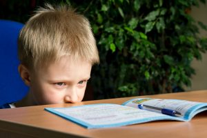 Hypnosis for ADHD - child with book