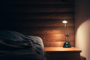Hypnosis-For-Sleep-Dark-Bedroom